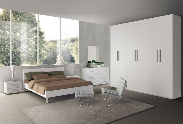 ROSY LARICE BIANCO - CHAMBRES MODERNES - CHAMBRES - AMEUBLEMENT